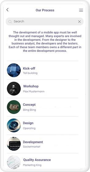 app entwicklung prozess