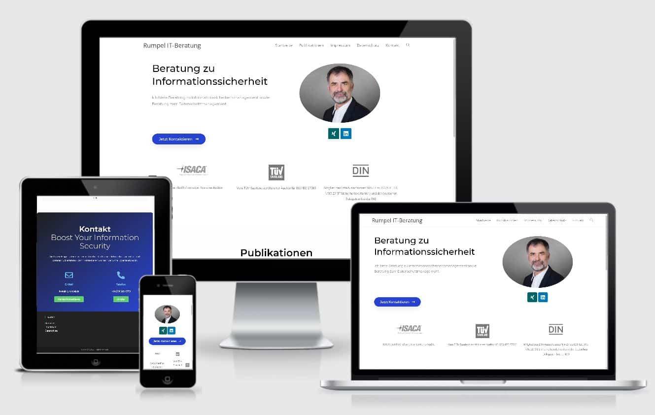 website erstellen rumpel